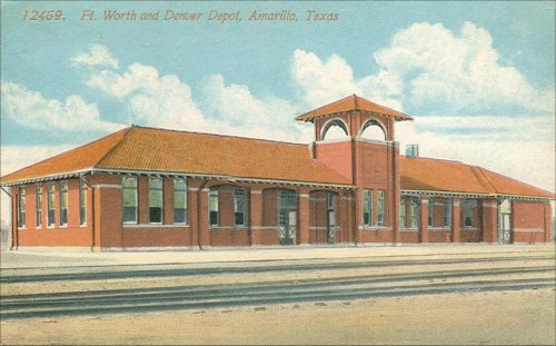 Fort Worth & Denver Depot - 1908