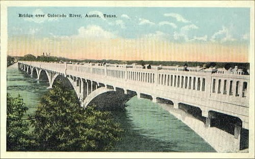 Colorado River Bridge - 1921