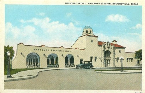 Railroad Depot - Missouri Pacific - 1920's