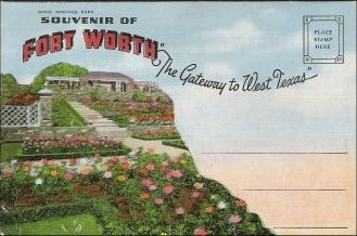 Fort Worth Souvenir Card