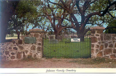 Johnson Family Cemetery - LBJ's Family is buried there