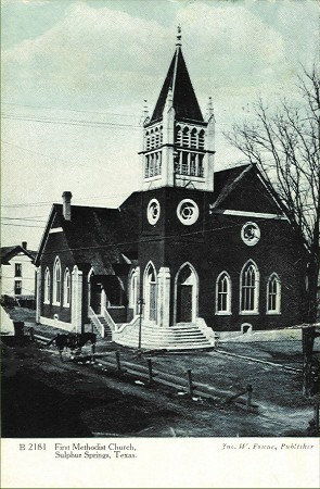 First Methodist Church - 1910