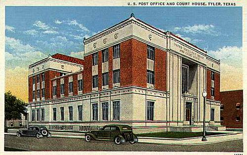 Post Office & Federal Courthouse - 1930's