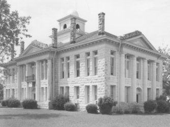 Southwest Oblique/Blanco County Courthouse