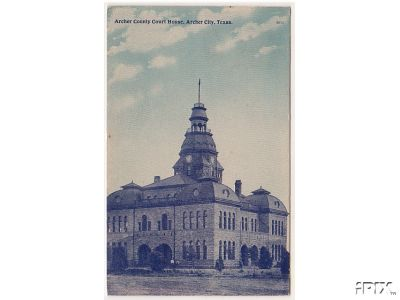 Archer County Courthouse 1909