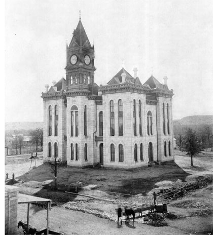 Bosque County Courthouse 1887