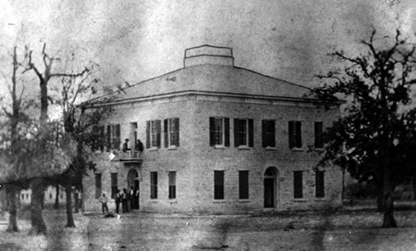 Bosque County Courthouse 1875