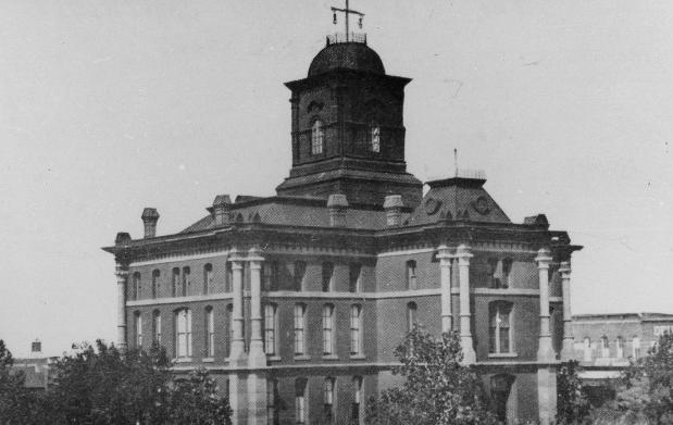 Clay County Courthouse 1884