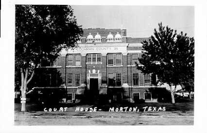 Cochran County Courthouse ca.1940