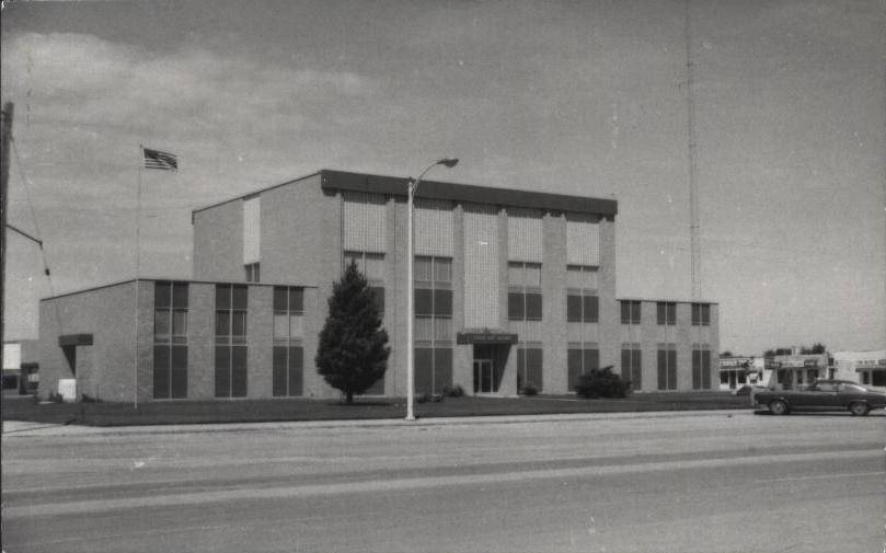 Cochran County Courthouse ca.1970