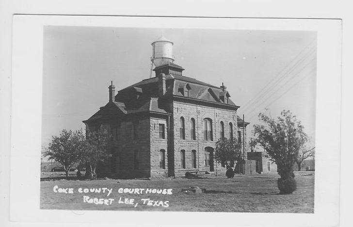 Coke County Courthouse 1891