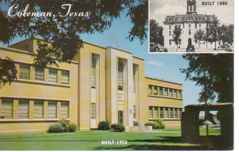 Coleman County Courthouse ca.1960
