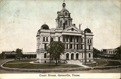 Coryell County Courthouse 1897