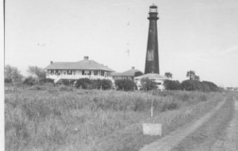Front of Bolivar Point Lighthouse