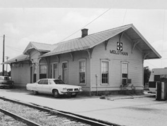 Gulf, Colorado, & Santa Fe Railroad Station