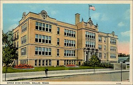 Bryan High School - Ca 1940's