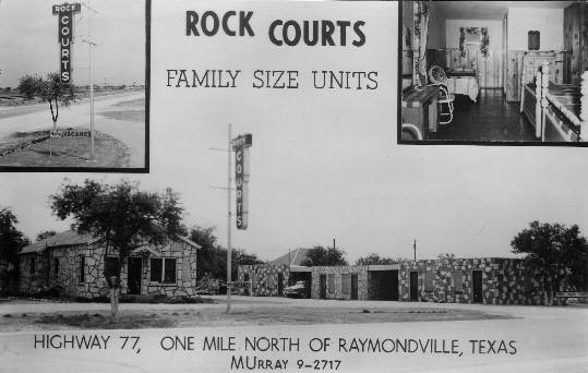 Rock Courts - 1950's