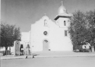 Front of Ysleta Mission Church