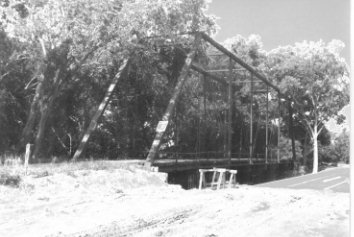 Plum Creek Through Truss Bridge
