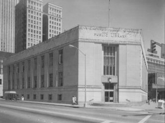 Front of Old Fort Worth Public Library